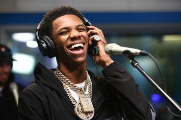 """A Boogie Wit Da Hoodie Brings """"Look Back At It"""" To Seth Myers"""