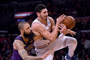 Enes Kanter Upset With Playing Time Against The Rockets