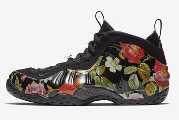 Floral Nike Foampiste Releasing For Valentine's Day: Official Images