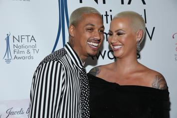 "Amber Rose Gushes About Her Boyfriend, Says She Felt ""Damaged"" Before They Met"