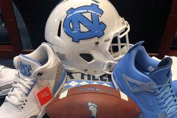 UNC Tar Heels Flex Some Brand New Jordan Brand Apparel