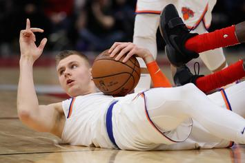New York Knicks Roasted On Social Media For Kristaps Porzingis Trade