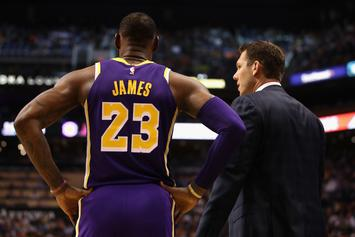 "Luke Walton & Lakers' Vets Almost ""Get Physical"" In Heated Confrontation"