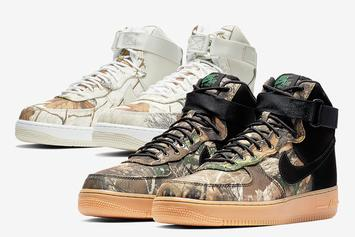 """Nike Air Force 1 High """"Realtree"""" Release Details"""