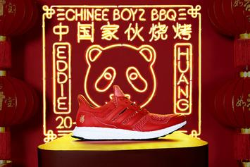 "Adidas x Eddie Huang Unveil ""Chinese New Year"" UltraBoost"