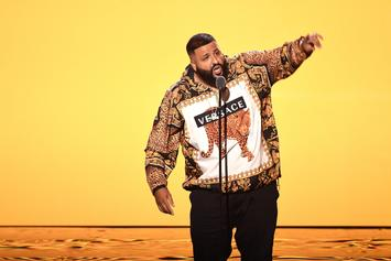 DJ Khaled Shows Off Slim Figure, Says He's Wearing XXL Shirts Now