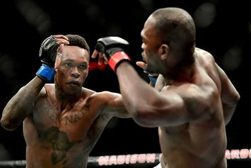 Israel Adesanya Emulates The Rock, Stone Cold At UFC 234 Workout