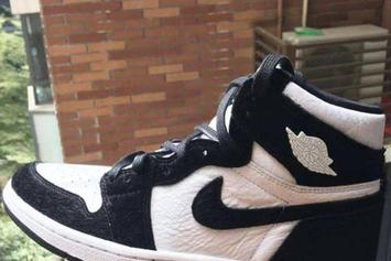 "Air Jordan 1 ""Black And White"" With Pony Hair Image Surfaces"