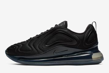 "Nike Air Max 720 To Release In ""Triple Black"" Colorway"
