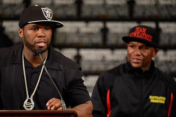 50 Cent Provides Commentary To Floyd Mayweather Flexing Video