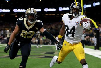 "Antonio Brown Says Deuces To The Steelers: ""Time To Move On And Forward"""