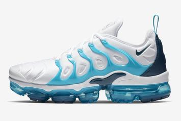 "Nike Vapormax Plus ""Blue Force"" Release Information"