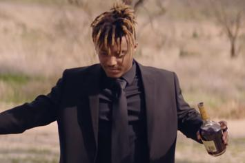 """Juice WRLD Stuffs His Face With Emo Baggage In The """"Robbery"""" Video"""