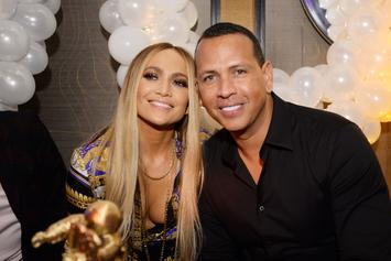 Jennifer Lopez Details Special First Valentine's Day With Alex Rodriguez