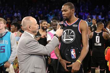 Kevin Durant Wins All-Star Game MVP In Team LeBron Victory