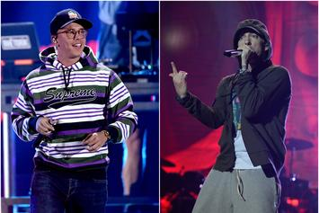 Logic Finally Meets His Idol Eminem
