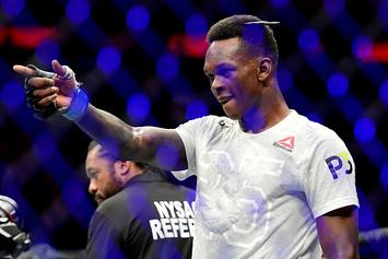 Israel Adesanya vs. Kelvin Gastelum Interim Title Fight Announced