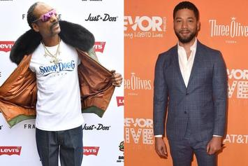 """Jussie Smollett Clowned By Snoop Dogg With """"Scooby Doo"""" & Lionel Richie Memes"""