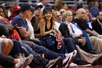 Rihanna Shows Off Her LeBron James Obsession At Lakers Game