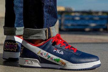 "Fila And Champs Team Up For ""Rugrats"" Collection"