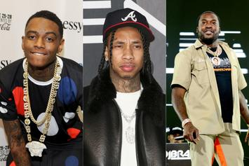 Meek Mill & Soulja Boy React To Tyga's Gun-Reaching Club Brawl Video
