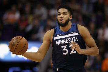 "Karl-Anthony Towns Says He's ""Lucky To Be Alive"" After Car Accident"