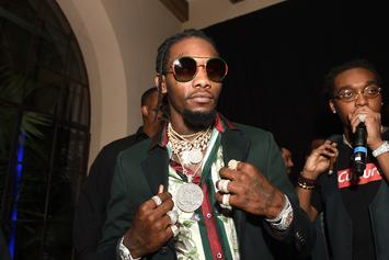 """Offset Drops Off Official """"Father Of 4"""" Merchandise"""