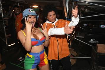 "Cardi B & Bruno Mars Earn Second Top 10 Single Together With ""Please Me"""