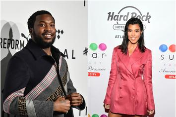 "Meek Mill Jumps In Kourtney Kardashian's Comments: ""Ass Phat In The Second Pic"""