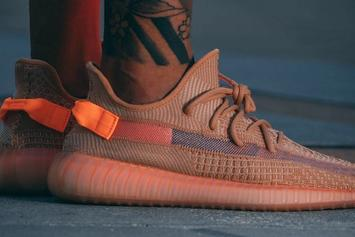 "Adidas Yeezy Boost 350 V2 ""Clay"" On-Foot Images Surface"