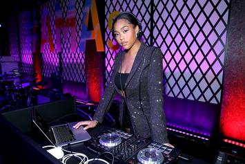 """Jordyn Woods Denies Hooking Up With Tristan Thompson On """"Red Table Talk"""""""