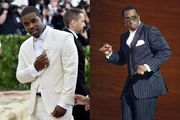 "A$AP Ferg Earns Bad Boy Chain From Diddy: ""Always Thought I Was The Baby In The Logo"""