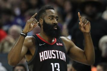 """James Harden Says Rockets Are """"Catching A Rhythm"""" Ahead of Playoff Push"""