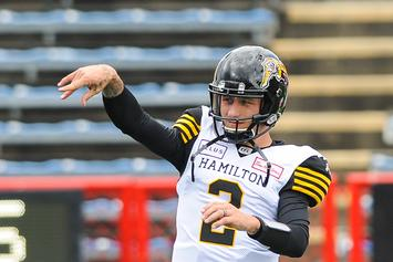 Johnny Manziel Is Back On The Field After Being Banned From The CFL