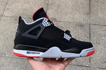 """Air Jordan 4 """"Bred"""" New Images And Rumored Release Date Revealed"""