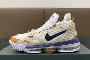 "Nike LeBron 16 ""Medicine Ball"" Nods To The Classic Air Trainer 3"