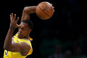 Rajon Rondo Escapes Fine For Sitting Courtside: Report