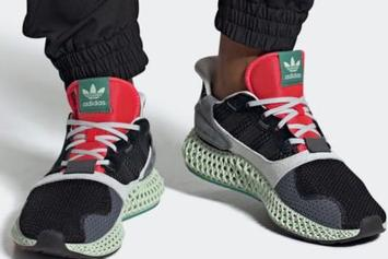 "Adidas ZX 4000 4D ""Black Onix"" Set To Debut This Weekend"