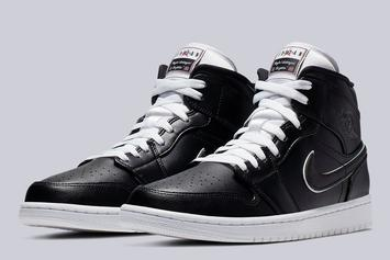 Air Jordan 1 Mid Colorway Based On Classic Michael Jordan Commercial