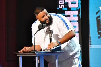 DJ Khaled Fan Inspired By J. Cole Haircut, Gets Producer Shaved Onto His Head