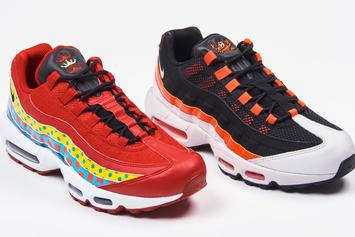"""""""Baltimore"""" Nike Air Max 95 Pack Releasing Tomorrow: Official Images"""