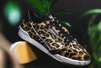 Adidas Continental 80 Gets Dressed In Furry Leopard Print