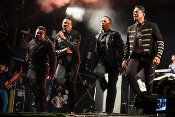 "The Jacksons Perform ""Tribute Concert"" For Michael In Brazil"