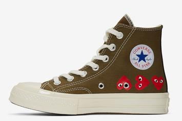 Comme Des Garcons X Converse Chuck 70 Dropping In Khaki Colorway