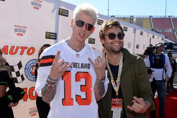 Machine Gun Kelly Already Has An Odell Beckham Jr. Browns Jersey