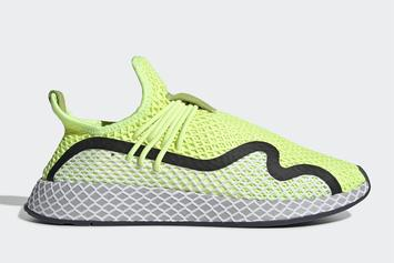 "Adidas Deerupt S Unveiled In New ""Volt"" Colorway: First Look"