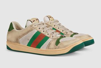 Gucci Is Selling Purposely Dirty Sneakers For Over $900