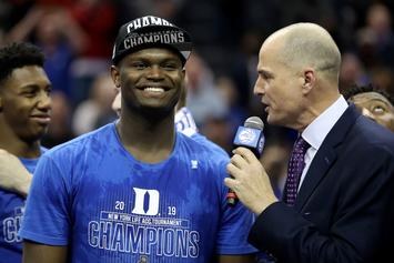 """Zion Williamson On Return From Injury: """"Coming Back Was Not An Issue"""""""
