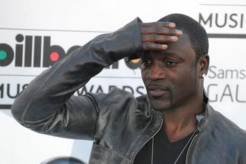 "Akon Plots The Family Business: Teases His Teenage Son's ""Konvict Music"" Debut"