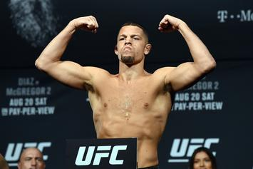 "Nate Diaz Calls Out Khabib Nurmagomedov: ""Where The F*ck You At?"""